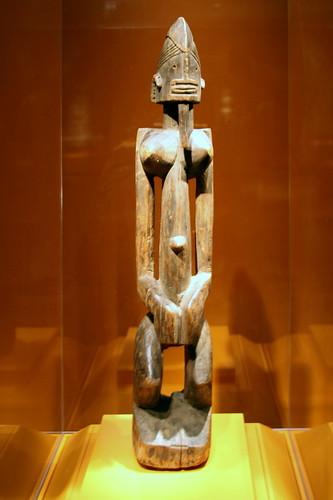 Female figure, Dogon peoples, Mali, Late 19th to early 20th century, Wood