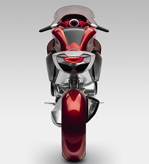 Honda V4 motorcycle concept new pictures