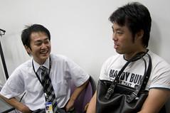 """岡崎さんと寺田さん, JJUG Cross Community """"JRuby と Jython"""", 2008.08.28"""