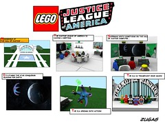 Lego JLA Comic Page (Zugas) Tags: america hall justice dc 3d ray lego maya modeling autodesk flash superman wonderwoman comicbook batman dccomics greenlantern 2008 league cgi superfriends mental aquaman jla martianmanhunter legomodel legobatman braveandthebold starro legosuperhero legohero legocomicbook 3dlego