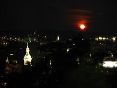 2007 07 01 - 0577 - Graz - View from Schlossberg (thisisbossi) Tags: moon night austria österreich graz moonillusion