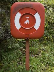 Bovine stick figure in peril?