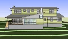 Rear View (rcmickel) Tags: 3dmodel exteriorviews 101208 histarranch