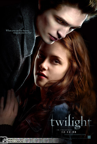 Twilight - the movie poster