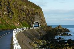 """Black Arch"" (Pamela B) Tags: sea sky water grass rocks cliffs northernireland 1001 countyantrim takeitoutside blackarch platinumheart ilovemypics"
