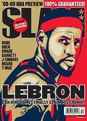 lebron james slam magazine cover