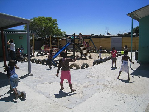 Pre-school kids at play