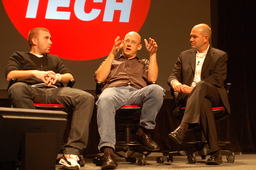 Matt, Clay and Chris at PopTech 2008