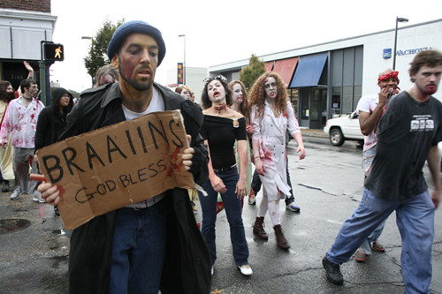 Zombie hobo!