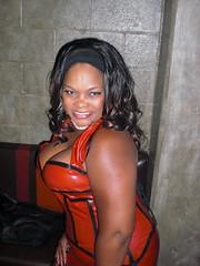 Red Latex (Blkvelvet99) Tags: beautiful women bondage latex corset domme dominatrix scc bigboobs