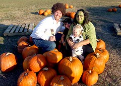 Family Photo at the KUMC Pumpkin Patch