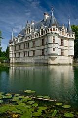 Château d'Azay-le-Rideau #2, Indre et Loire, France, July 2008