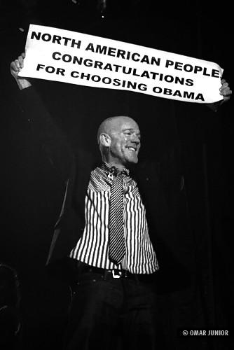 R.E.M | A message for Obama