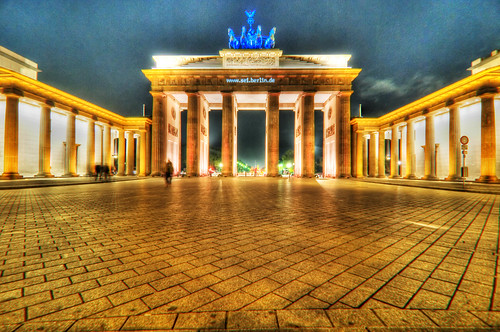Brandenburger Tor at Festival of Lights - Berlin, Germany