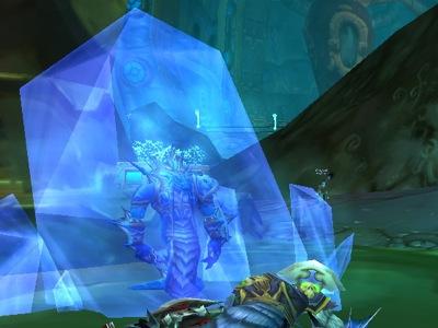 Naga in Freezing Trap