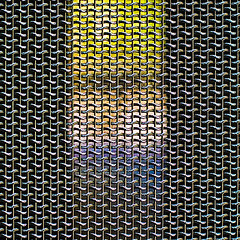 b7017 Grid Light-and-Shade (tengtan (away awhile)) Tags: light color colour metal effects grid rainbow stainlesssteel shadows mesh geometry decorative melbourne outoffocus shade confused abstraction lit chiaroscuro oof focusing nationalgalleryofvictoria 500x500 favemegroup3 auselite tengtan