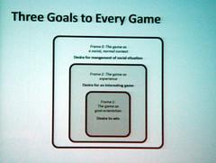 Jesper Juul: Three Goals to Every Game (inju) Tags: buffalo singapore mit visualarts culture theory rules videogames gaming study motivation ub academic cfa jesperjuul ludology