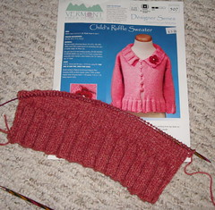 Ruffle Sweater for Clover
