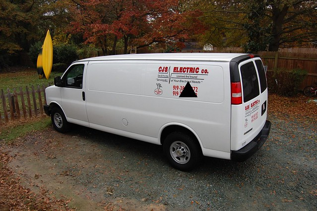 2008 electrician electricianin chevyexpress2500