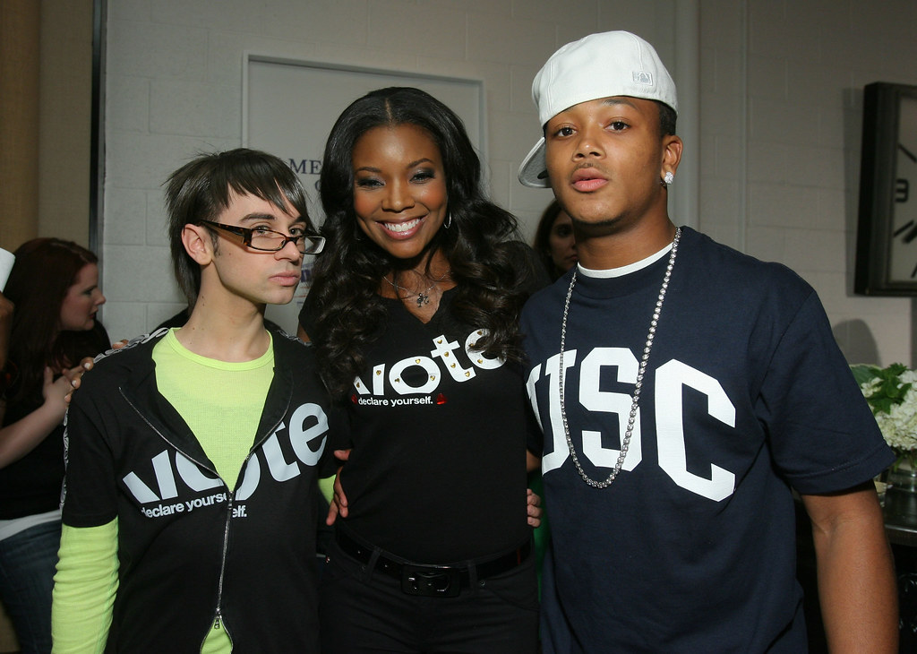 Christian Siriano, Gabrielle Union, and Lil Romeo