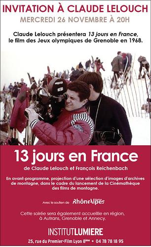Lelouch presente Treize jours en France 3041303779_107b2c6d08