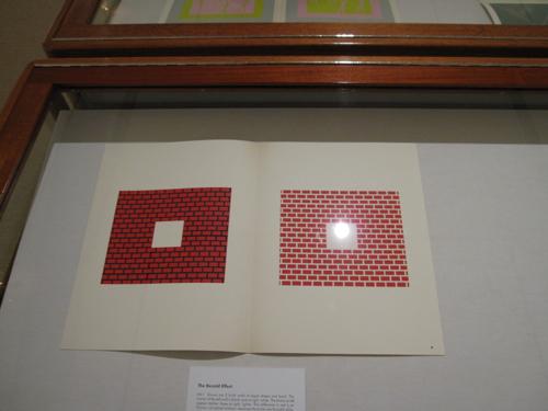 Gallery - red brick illusion