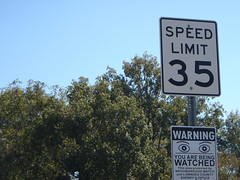 Speed Limit 35 Neighborhood Watch
