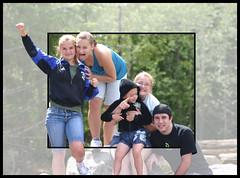 Kids at Mount Rainier National Park (The_Iceman) Tags: park kids photoshop mount national rainier oob