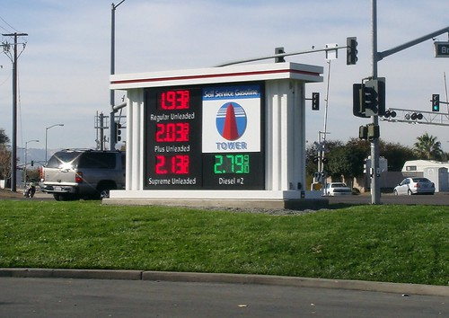 today's gas prices