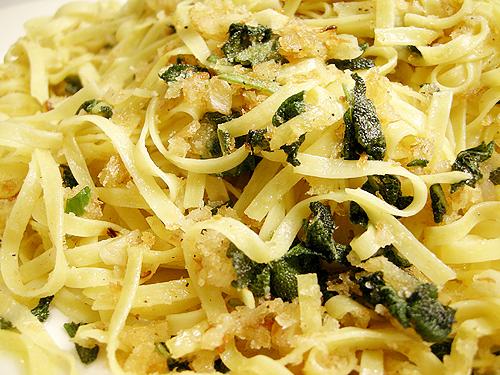 蒜味鼠尾草義大利麵-081124