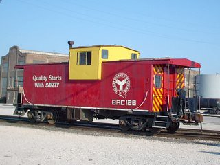 Belt Railway of Chicago caboose # 126. Bedford Park Illinois. August 2007.