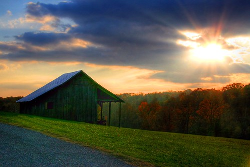 """Sunset Farm\"" by D L Ennis"