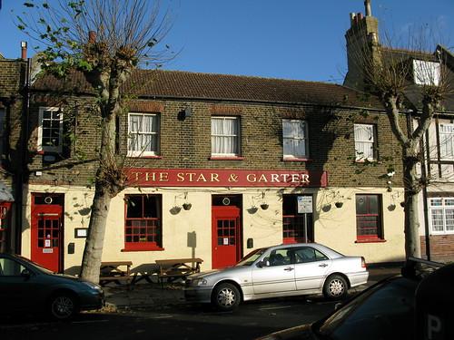 The Star & Garter Pub in Greenwich