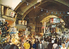 بازار تهران در دهه چهل--Grand Bazaar, Tehran (Nahidyoussefi) Tags: iran iranian tehran ایران bazar تهران 1340 ایرانیان بازارتهران