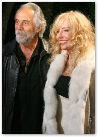 Shelby Chong with Tommy Chong