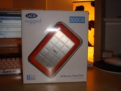 500GB plug & play