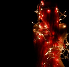 Day 330 of 365 Days of Music (wisely-chosen) Tags: selfportrait me nude december christmaslights 2008 pinkhair picnik verylonghair alliwantforchristmasisyou 365nudes music365 manicpanichothotpink