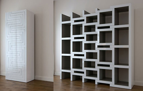 3093102498 e4f4a14722 o Office Bookcase to better your Workspace
