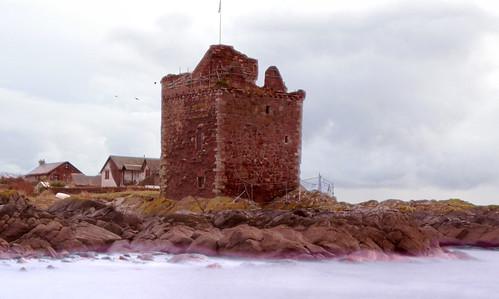 Portencross castle 08Dec08