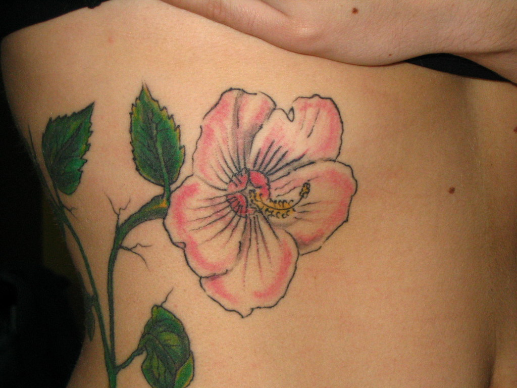 Hibiscus flower tattoos flower tattoo hibiscus flower tattoo izmirmasajfo
