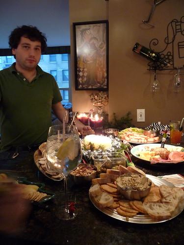 fancy party food