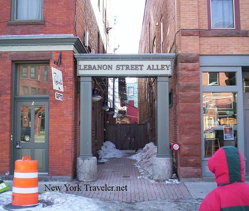 Lebanon Street Alley
