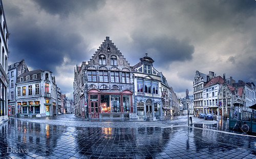Entorno de Markt (Brujas, Brugge, Belgium) by dleiva.