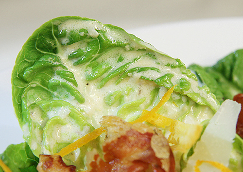 Caesar salad (凱薩沙拉)-090409