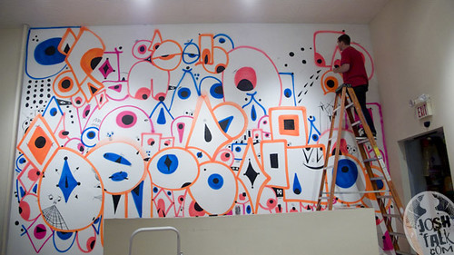 nick z new mural at bodega -courtesy of josh falk