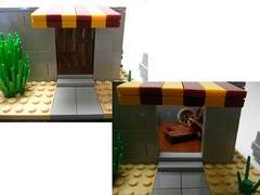 Break down the door. (Lego Junkie.) Tags: army war lego military iraq navy