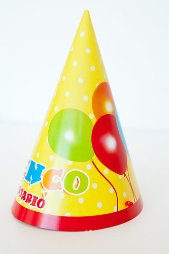 Chapéu Tema Balões