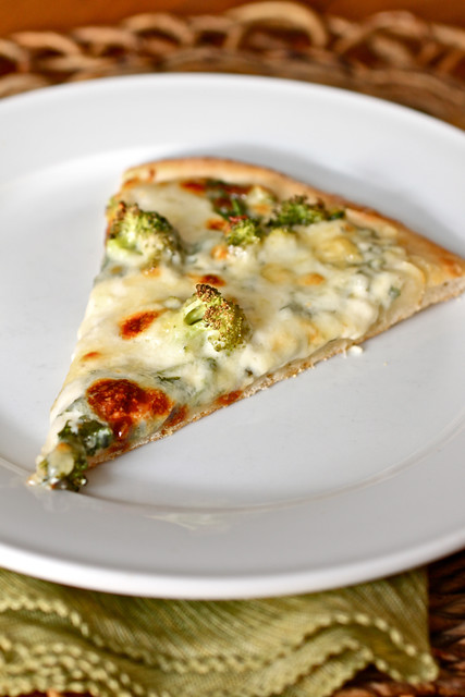 Spinoccoli Pizza