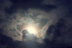 Dark Sun (Evano Gucciardo) Tags: sunset sky sun clouds lens nikon different awesome deep rochester filter cp blast tone 18105 d90