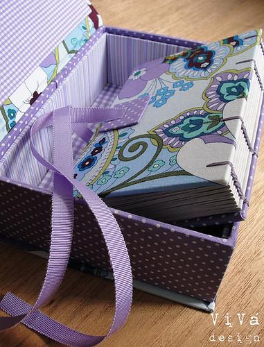 Caixa e Sketchbook Tuuli